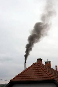 Tisa Duplica: izpust gostega črnega sajastega dima 1.10.2010